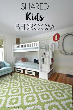 Sisters shared bedrooms on pinterest kids rooms boy for Sibling bedroom ideas