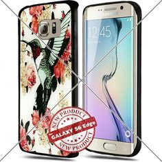 Samsung Galaxy S6 Edge Art Hummingbird Rose Cool Cell Phone Case Shock-Absorbing TPU Cases Durable Bumper Cover Frame Black Lucky_case26 http://www.amazon.com/dp/B018KORUD2/ref=cm_sw_r_pi_dp_sF8vwb1EAJFJB