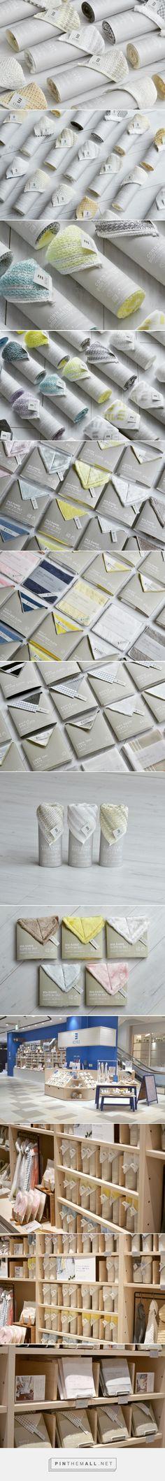Kiyoi towel packaging design by Yusuke Taguchi Design - http://www.packagingoftheworld.com/2017/01/kiyoi-product.html
