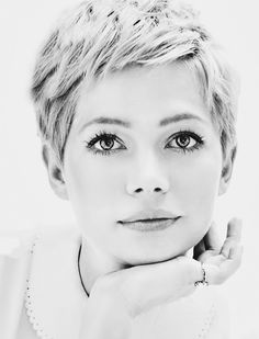 Michelle Williams – Pixie cut