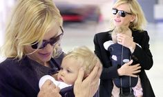 Cate Blanchett's adorable daughter sports a full head of hair
