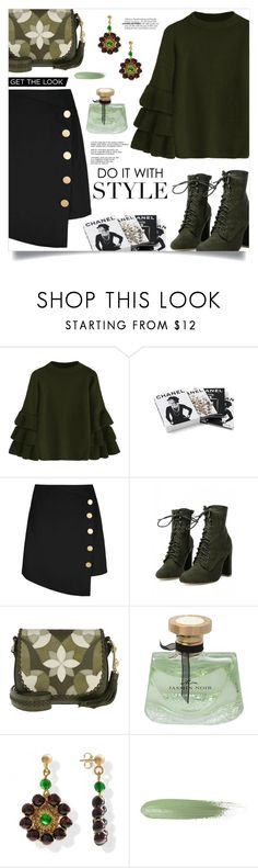 """""""Hello Friday"""" by mahafromkailash ❤ liked on Polyvore featuring Chanel, Michael Kors and Bulgari"""