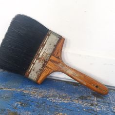 A personal favorite from my Etsy shop https://www.etsy.com/listing/455918914/large-vintage-paintbrush-vulcanized