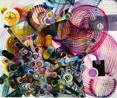 Rosemarie Fiore - Firework Paintings