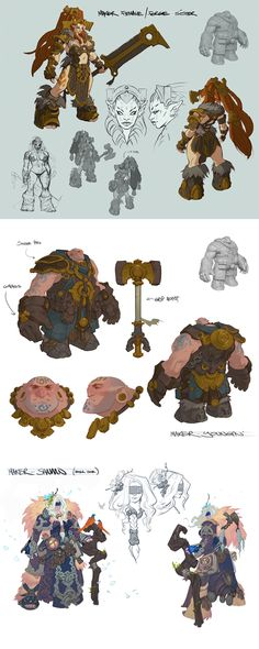 Darksiders II Have not played this series, but I love these characters concepts.