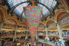 La coupole de Galeries Lafayette