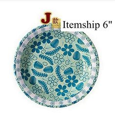 Itemship 20 PCS 6 inch / 8 inch color disposable paper plates grill pan party party paper plates (J) by Itemship, http://www.amazon.ca/dp/B00G9TR1PI/ref=cm_sw_r_pi_dp_36rCsb1PABMJA