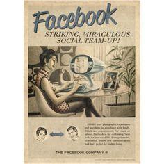 Você que gosta de produtos Vintage, certamente vai adorar um Adesivo Pôster Facebook Vintage. Este Pôster é uma forma de decorar seu quarto, sala ou até ...