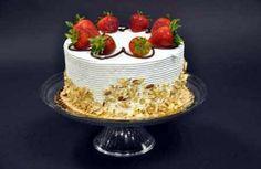 Fresh Strawberry Torte