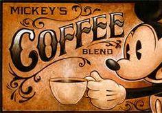 Mickey & Coffee ❤