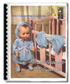 Beautiful free doll clothes patterns for 16 - 20 and 24 inch dolls