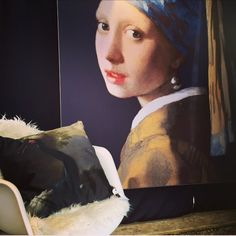 Girl with the pearl earring on the wall