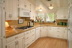 20 Pictures of Simple Tile Kitchen Countertops 7