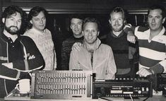 "lucy-pepper: ""David Gilmour of Pink Floyd & Supertramp, while recording Brother Where You Bound in 1984 """