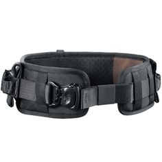 The KANO is a tactical belt for special forces. It can be used to carry tactical equipment and to secure the wearer. The belt has integrated leg loops for occasional rappels. During regular use, these leg loops are concealed inside the belt. Tactical Belt, Tactical Clothing, Tactical Knives, Tactical Survival, Survival Gear, War Belt, Battle Belt, Airsoft Helmet, Tac Gear