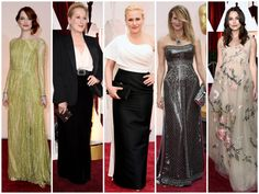 What wore Nominees for best supporting actress on Oscars 2015? See more here: http://everydaytalks.com/oscars-red-carpet-nominees-for-best-supporting-actress/