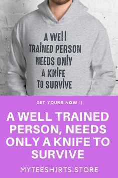 [REVEAL]=> This kind of survival tip of the day For Survival Tips Communication will look absolutely fantastic, must bear this in mind when I've a chunk of cash saved up. Survival Shelter, Survival Prepping, Survival Skills, Survival Gear, T Shirts, Funny Tshirts, Long Sleeve Shirts, Bushcraft Backpack, Female Urinal
