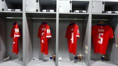 Chile dressing room