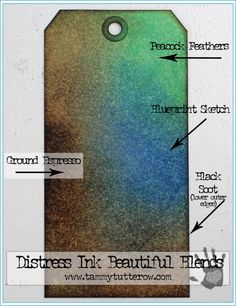 Beautiful Blends | Shades of Brown, Blue, and Green — Tammy Tutterow Designs