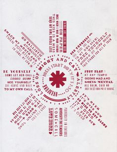 RED HOT CHILI PEPPERS LYRICS ⇢ OVER FUNK