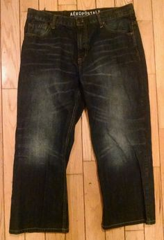 AEROPOSTALE Men's BENTON BOOT CUT Jeans 36x26 Excellent Condition in Clothing, Shoes & Accessories | eBay
