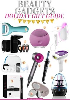 These beauty gadgets will make perfect holiday gifts for beauty lovers in your life. Unique tools and devices to rev up any routine.