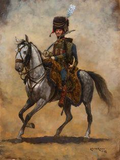 Kingdom of Italy - Officer of Horse Artillery c 1810