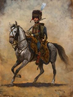 Kingdom of Italy - Officer of Horse Artillery c 1810