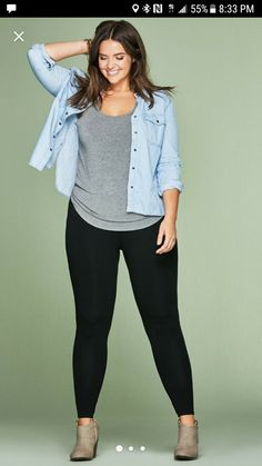 Buying plus size clothes are not easy. There is a lot of hits and misses a customer has to face while purchasing it. The biggest problem with buying clothes for women with the plus-size is either n… Casual Plus Size Outfits, Curvy Girl Outfits, Plus Size Dresses, Curvy Work Outfit, Plus Size Casual, Mode Outfits, Fall Outfits, Fashion Outfits, Fashion 2017