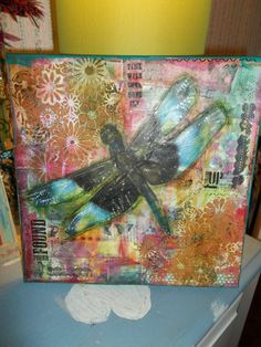 let the journey take flight by Kellydoodle on Etsy, $45.00