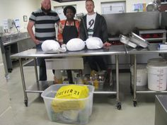 The Criminal Justice Student Association at Trident Technical College organized a Thanksgiving food collection drive for CYDC youth. Three huge turkeys and all the fixin's to boot! Pictured left to right are CJSA president Joe Bistromowitz (left), CYDC dietary services coordinator Shirley Borden and CJSA vice president David Thompson. #grateful.