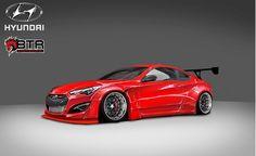 2014 Hyundai Genesis Coupe by Blood Type Racing