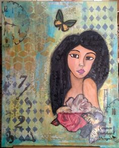 The Search for Truth Begins  Whimsical Girl Art by CarmenWDesigns