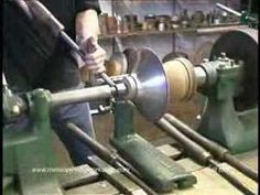 the art of metal spinning Woodworking Techniques, Woodworking Projects, Metal Shaping, Wood Turning Lathe, Custom Garages, Metal Projects, Sheet Metal, Furniture Plans, Wood And Metal