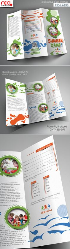 Travel Brochure Design  World TriFold Best Travel Brochures