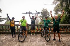 Small-Group Jungle Bike Tour from Rio de Janeiro Embark on this thrilling 5-hour bike tour through Brazil's Tijuca National Park. Cycle through the preserved area, filled of waterfalls, as well as exotic flora and fauna. Before starting the bike tour, your guide will bring you and your small-group of no more than 10 to a viewing of Christ the Redeemer.Begin the tour by getting picked up from your Rio accommodations. From there, you will be driven to the top of the Corcovado, w...