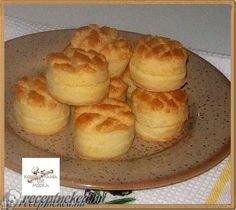 Túrós pogácsa Muffin, Pudding, Breakfast, Desserts, Recipes, Food, Sweet Stuff, Cooking, Recipe