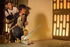 Awesome Parents Recreate Famous Movie Scenes With Baby and Cardboard