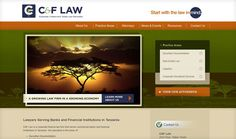 Law Firm Web Design by PaperStreet - www.paperstreet.com