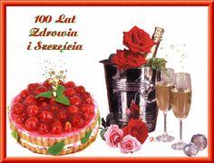 Urodziny i imieniny: Gify urodzinowe Flowers Gif, Happy Birthday Cakes, Raspberry, Fruit, Food, Holidays, Humor, Google, Flowers