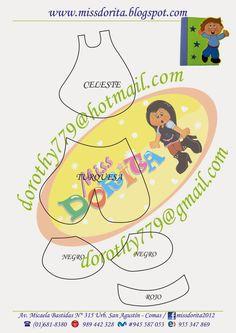 Miss Dorita: Forro de Cuaderno niño (1)