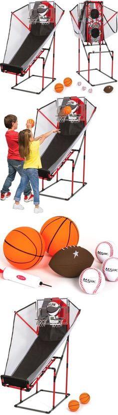 Other Indoor Games 36278: Game Room Arcade Combo Set 3-In-1 Basketball Football Baseball Arcade Sports New -> BUY IT NOW ONLY: $53.65 on eBay!