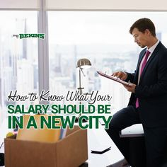 Whether you are moving to a city seeking new job opportunities or to relocate for an existing job, your main concern should be your salary. Current Job, New Job, Office Moving, New City, How To Know, Live