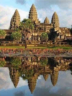 Angkor Wat, Camboya ¡un destino sagrado que visitar antes de morir! - http://vivirenelmundo.com/angkor-wat-camboya-un-destino-sagrado-que-visitar-antes-de-morir/3964