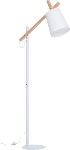 Lampa podłogowa Muse biała (Biały, Czarny) - Oświetlenie - Artykuły Dekoracyjne - Meble VOX