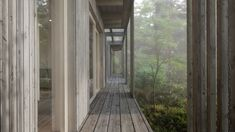 gimme shelter architecture house, wooden deck surround the house. Architecture Company, Amazing Architecture, House Without Walls, Scandinavian Architecture, Wooden Decks, Wooden Houses, Tiny Houses, Getaway Cabins, Modular Homes