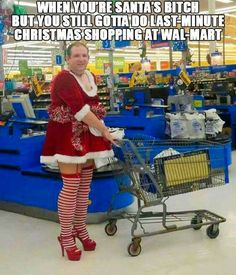 People of Walmart Funny Christmas Costume Pantyhose Heels Funny Walmart Pictures, Walmart Funny, Funny People Pictures, Walmart Photos, Weird People At Walmart, Only At Walmart, Christmas Humor, Christmas Shopping, Clothing Fails