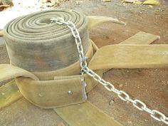 Fire Hose Weaving Instructions - Animal Enrichment : Honolulu Zoo