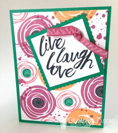 Layering Love stamp