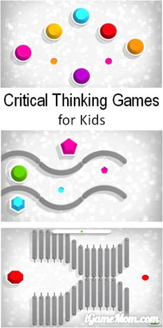 A fun app for kids with a series of critical think games. The games is designed for kids of all ages, preschool, elementary school, high school, even adults.